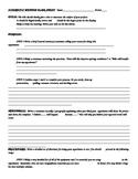 Science Fair, Scientific Method Plansheet