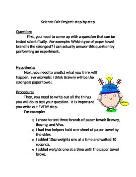 Science Fair Step-By-Step