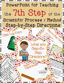 7 Science Fair Step-by-Step Directions PowerPoint Lesson with Experiment