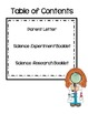 Science Fair Student How-To Guide