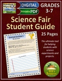 Science Fair Student Guide - Print and Digital Versions -