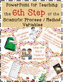 6 Science Fair Variables PowerPoint Lesson with Experiment, Directions & Rubric