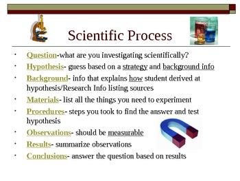Science Fair Workshop Grades 3-6