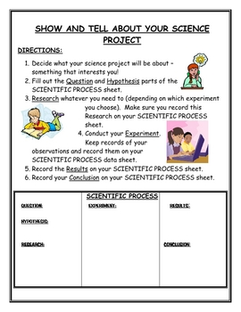 Science Fair and Language Report