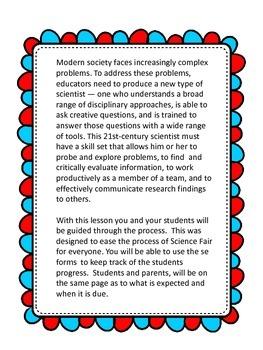 Science Fair made easy