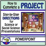 Science Fair Experiment or Social Science Fair Project PowerPoint