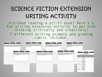 Science Fiction After-Reading Extension Writing Activity