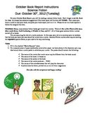 Science Fiction Book Report- Turning your Book into a Movie!