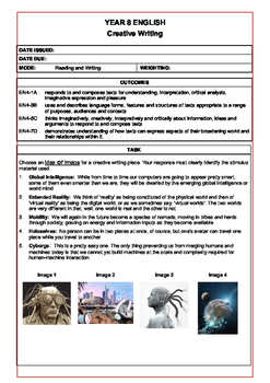 Science Fiction Creative Writing Task