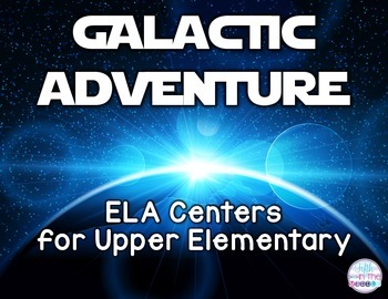Galactic Adventure Science Fiction ELA Centers for Upper Elementary