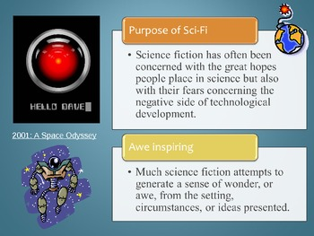 Science Fiction Elements in a Short Story