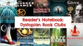 Dystopian Novel Reading Notebook Entries
