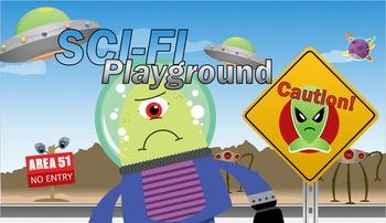 Science Fiction Genre Study - Interactive Powerpoint Anima