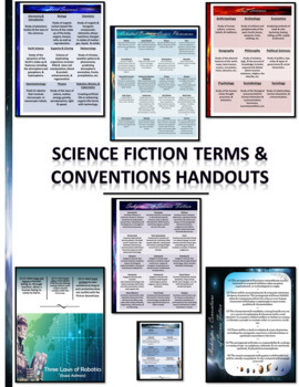 Science Fiction Interactive Stack-Em Notepad