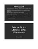 Science Fiction Literature Circle Unit