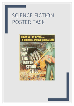 Science Fiction Poster Task