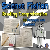 Science Fiction Reading Comprehension: Fun Summer Reading Comprehension