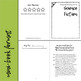 Science Fiction Reading Response Journal