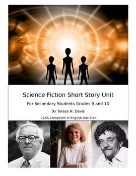 Science Fiction Short Story Complete Unit
