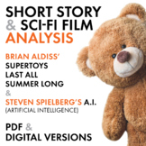 Science Fiction Short Story & Film Analysis, 5-Day Lit. & Movie Worksheets, CCSS