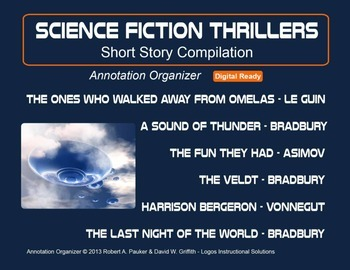 Science Fiction Thrillers: Short Story Compilation
