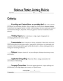Science Fiction Writing: Rubric
