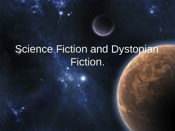 Science Fiction and Dystopian Literature