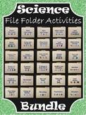 Science File Folder Activities ~ BUNDLE