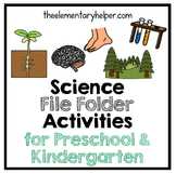 Science File Folder Activities for Preschool and Kindergarten