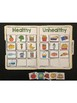 Science File Folder Activity ~ Healthy and Unhealthy