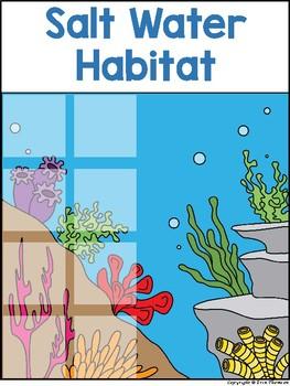 Science File Folder Activity ~ Water Habitats