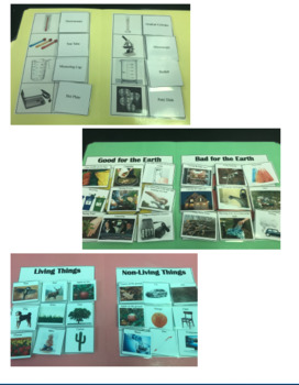 Science File Folder Bundle Pack Special Education