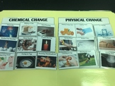 Science File Folder Game- Chemical and Physical Change Sort