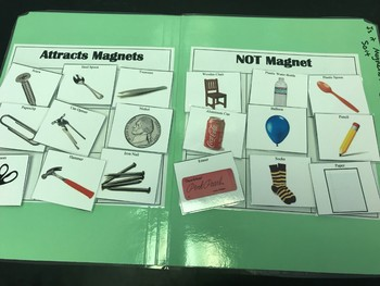 Science File Folder Game- Is It Magnetic?