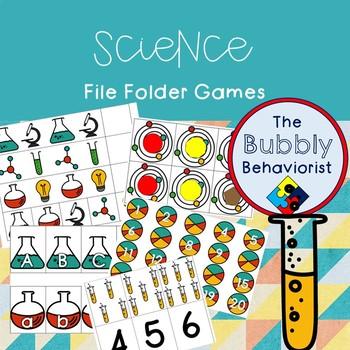 Science File Folder Games