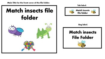 Science File Folder Games (BUNDLE)