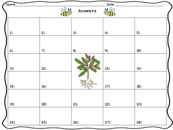 Science Files - Plant Life Cycles and Growth Task Cards