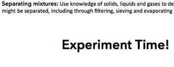 Science Filtration Investigation