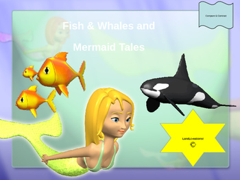 Power Point: Science; Fish & Whales and Mermaid Tales