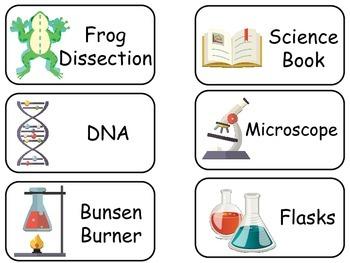 Science Flash Cards. Preschool Beginning Science flashcards.