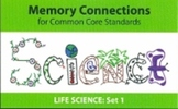 Science Flashcards for Common Core Standards by Memory Connections