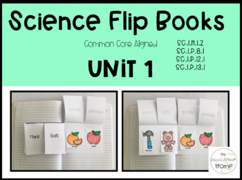 Science Flip Books: First Grade Unit 1