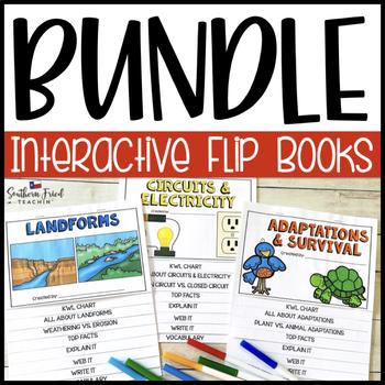 Science Interactive Flip Books GROWING BUNDLE