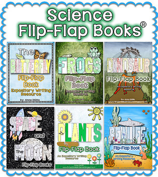 Science Flip-Flap Books™ BUNDLE - Expository Writing Resources