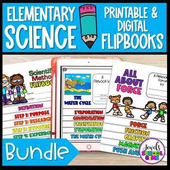 Science Flipbooks Activities BUNDLE #stockupsale