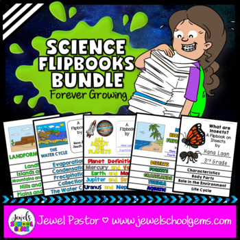 Science Flipbooks Activities BUNDLE