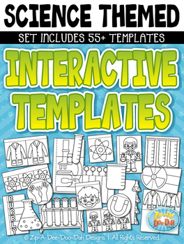Science Flippable Interactive Templates {Zip-A-Dee-Doo-Dah Designs}