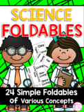 Science Foldable Flipbooks {24 Simple Foldables for ALL YE