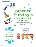 Science For Kids Vol. 1 Journal