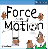 Force plus Motion  2 in 1 Science Vocabulary ELL